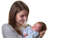 dziecko matka Zdjęcia Stock