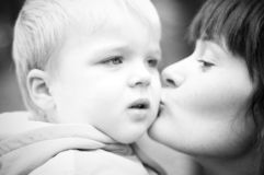dziecko matka Zdjęcie Stock
