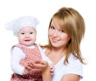 dziecko matka piękna szczęśliwa obrazy stock