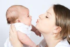 dziecko matka rodzinna szczęśliwa zdjęcia stock