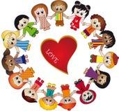 dziecko miłość ilustracja wektor
