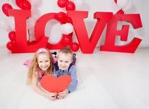 Dziecko miłość Fotografia Stock