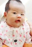 Dziecko śmieszna twarz Fotografia Stock
