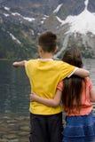 dziecko mount jeziora Obraz Stock