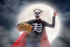 Dziecko na Halloween Fotografia Stock