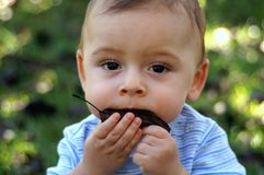 dziecko naturalny Zdjęcia Royalty Free