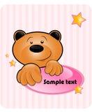 dziecko niedźwiedź Zdjęcia Royalty Free