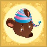 dziecko niedźwiedź Obraz Royalty Free