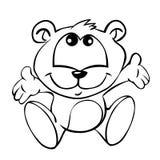 dziecko niedźwiedź royalty ilustracja