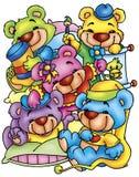 dziecko niedźwiedzie Zdjęcie Royalty Free