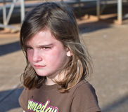 dziecko nieszczęśliwy Fotografia Stock