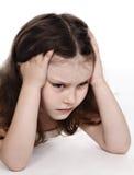 dziecko nieszczęśliwy Obraz Stock