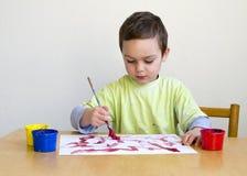 Dziecko obrazu obrazek Fotografia Stock