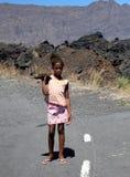 Dziecko od wyspy Fogo na przylądku Verde zdjęcie royalty free