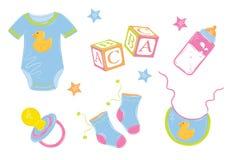 Dziecko odziewa ilustracja wektor