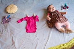Dziecko Odziewa Zdjęcie Royalty Free