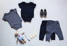 Dziecko odziewa, pojęcie dziecko moda Obrazy Stock