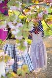 Dziecko odziewa w drzewie Zdjęcie Royalty Free