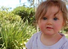 dziecko ogród fotografia royalty free