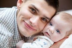 dziecko ojciec Zdjęcie Royalty Free