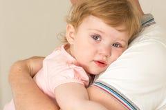 Dziecko ojczulek Zdjęcia Stock