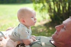 dziecko ojczulek Fotografia Stock