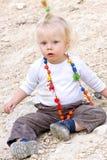 dziecko okaleczający Zdjęcie Royalty Free