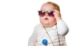 dziecko okulary przeciwsłoneczne obraz stock