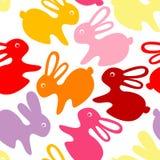 dziecko ornamentu królik ilustracja wektor