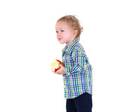 dziecko owoc Obraz Royalty Free