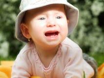 dziecko płacz Zdjęcia Royalty Free