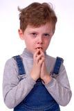 Dziecko płacze Zdjęcia Stock