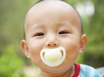 dziecko pacyfikator fotografia stock