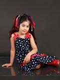 dziecko patriotyczny Fotografia Royalty Free