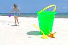 dziecko plażowa zabawka s Obrazy Stock