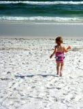 dziecko plaża Fotografia Stock