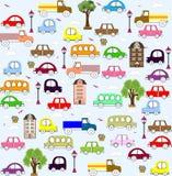 Dziecko pojazdu wzoru projekt Obraz Royalty Free