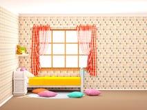 Dziecko pokój śliczny zdjęcia royalty free