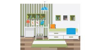 Dziecko pokoju wnętrze Zdjęcie Royalty Free