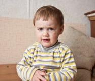 dziecko ponury Zdjęcia Stock