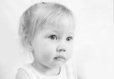 Dziecko portret w wysokiej kluczowej technice Fotografia Royalty Free