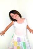 dziecko pozy uderzenie Obraz Royalty Free