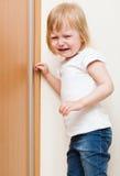 dziecko pozycja narożnikowa niegrzeczna Obraz Royalty Free