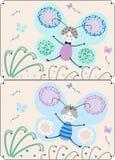 dziecko projekt royalty ilustracja