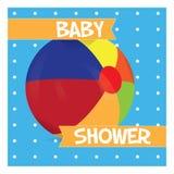 Dziecko prysznic ilustracja royalty ilustracja