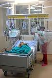 Dziecko przygotowywający dla operaci Zdjęcia Stock