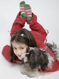 dziecko psa pet zdjęcie stock