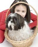 dziecko psa pet zdjęcia royalty free