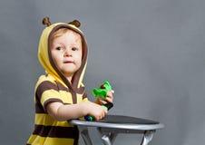 Dziecko pszczoła zdjęcie royalty free