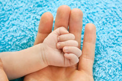 dziecko ręka Zdjęcie Stock